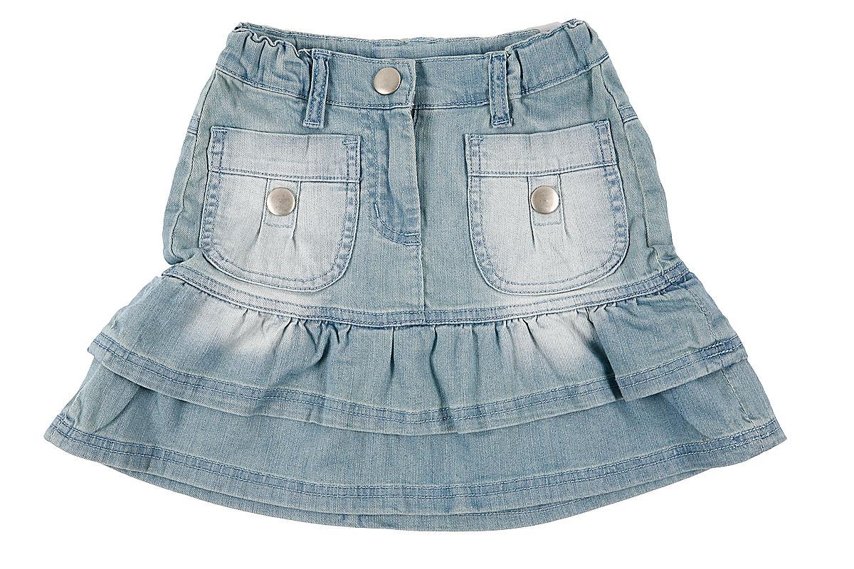 Джинсовая юбка для дев.10440 10440