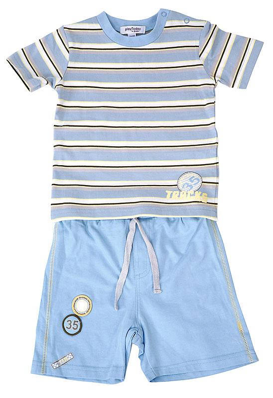 Костюм: футболка, шорты дет. для мал.10713 10713