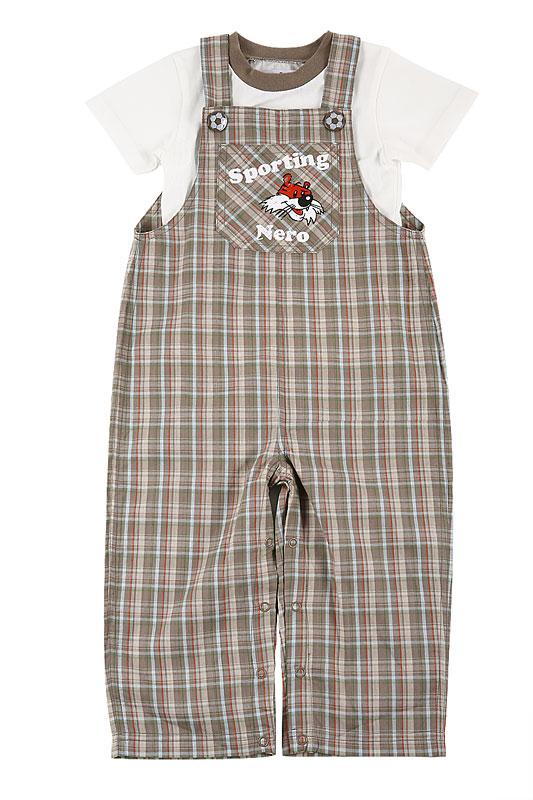 Комплект: футболка, полукомбинезон дет. для мал.10745 10745