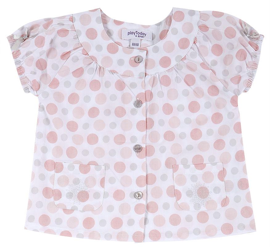 Костюм: блузка, шорты дет. для дев. 10813