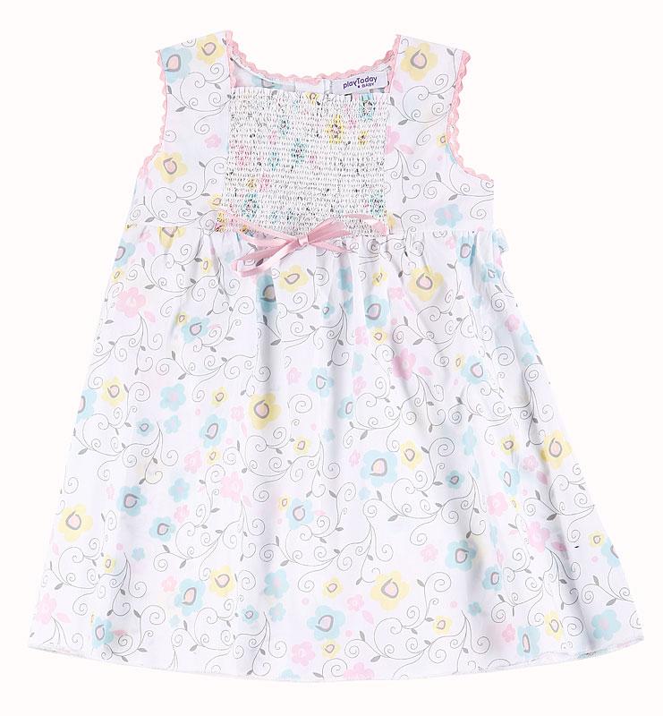 Комплект: платье, трусы дет. для дев.10839 10839