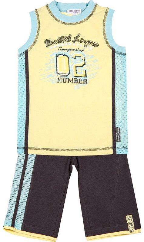 Комплект: футболка, бриджи для мал. 11005