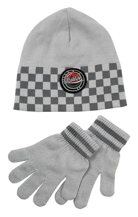 Комплект: шапка, перчатки для мал. 111050