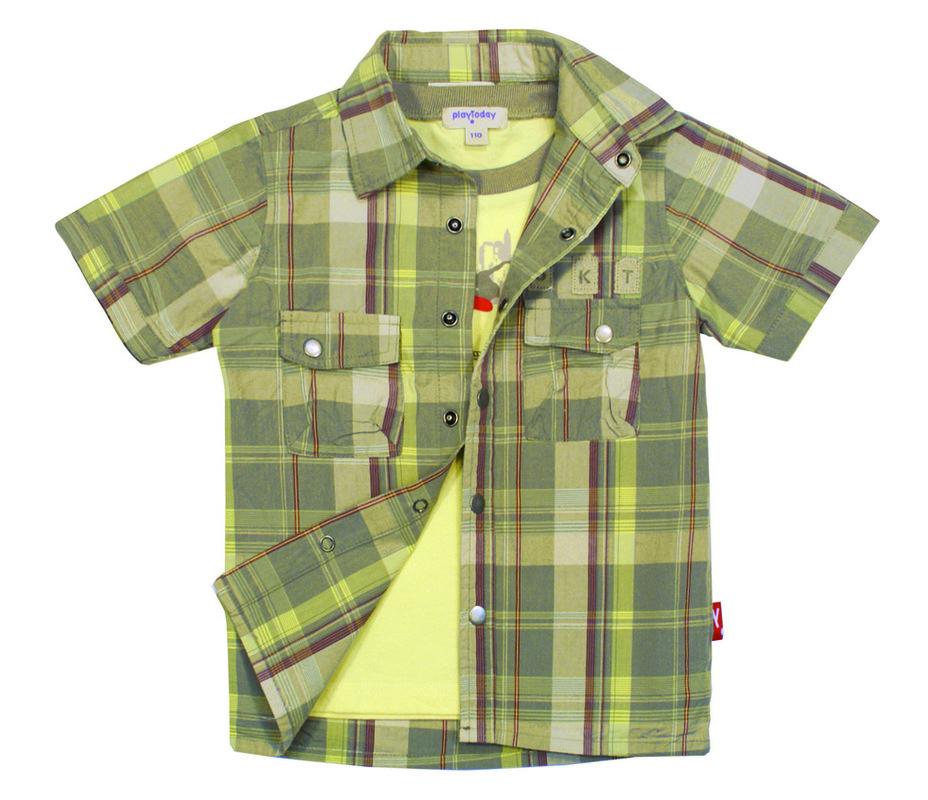 Комплект: рубашка, майка для мал. 111063