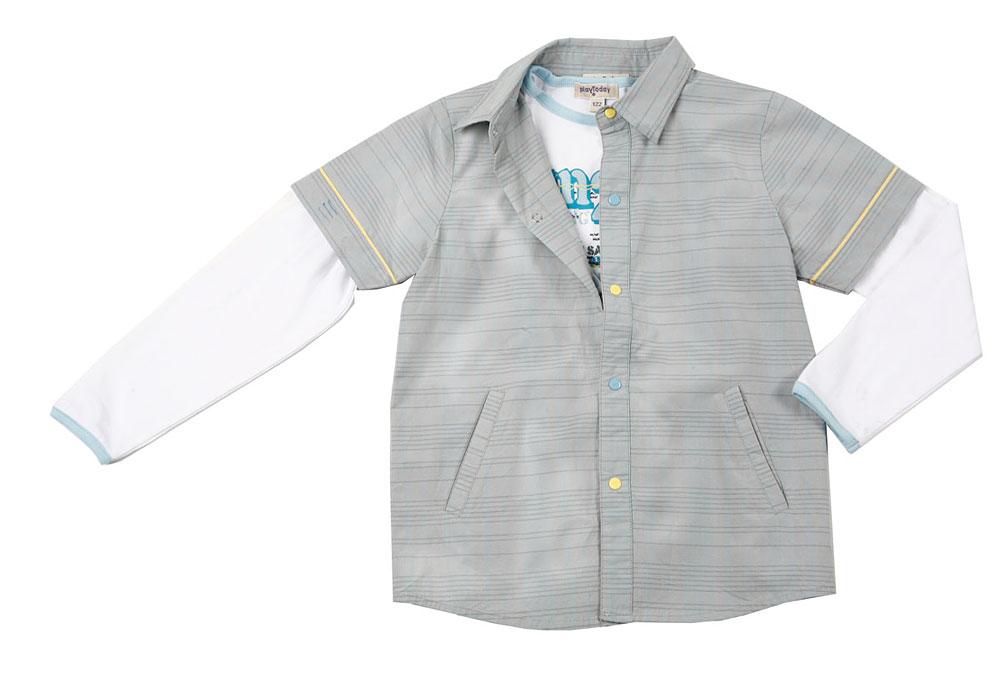 Комплект: рубашка, футболка для мал. 111095