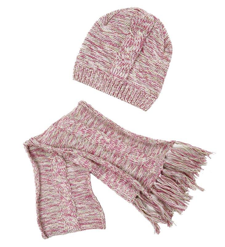 комплект: шапка, шарф для дев. 112030