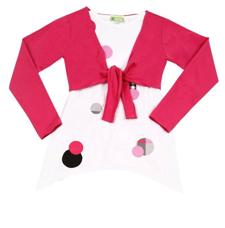 Комплект: болеро, футболка для дев. 11413