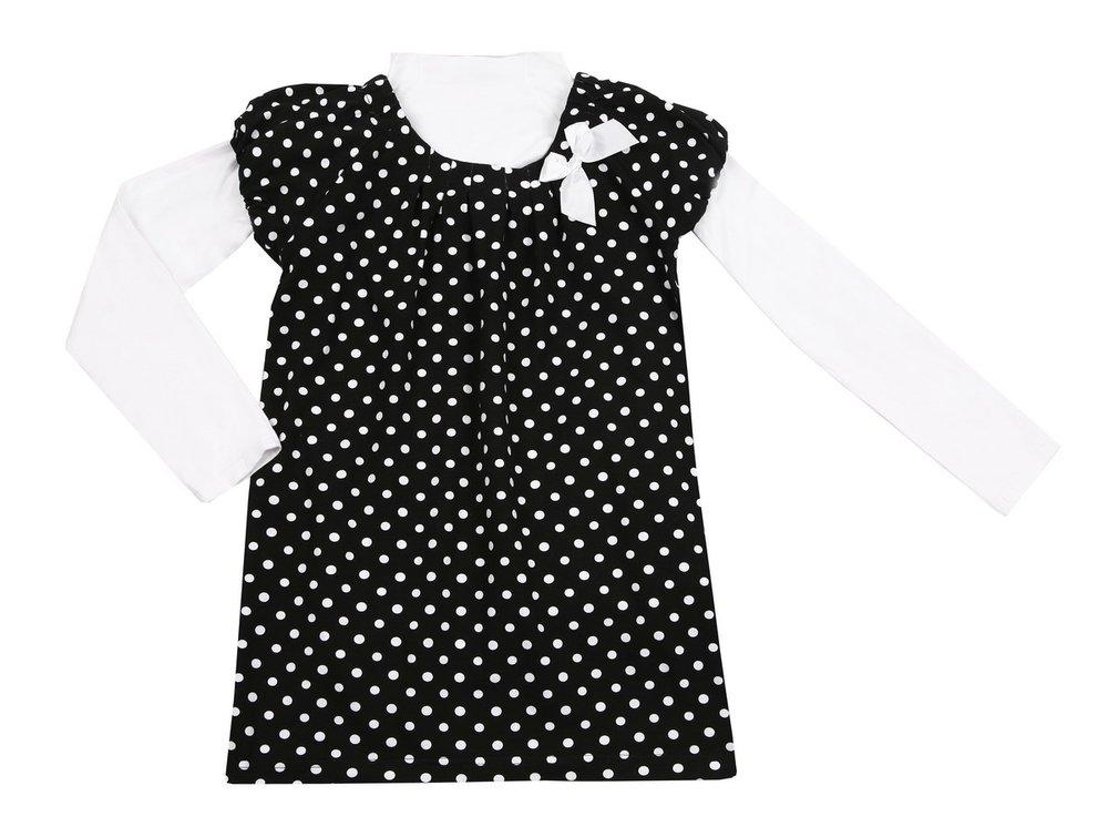 Комплект: платье, водолазка 11419