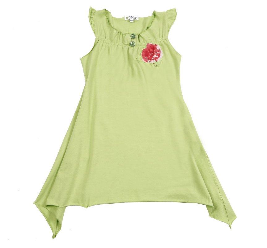 Комплект: платье, леггинсы для дев. 11473