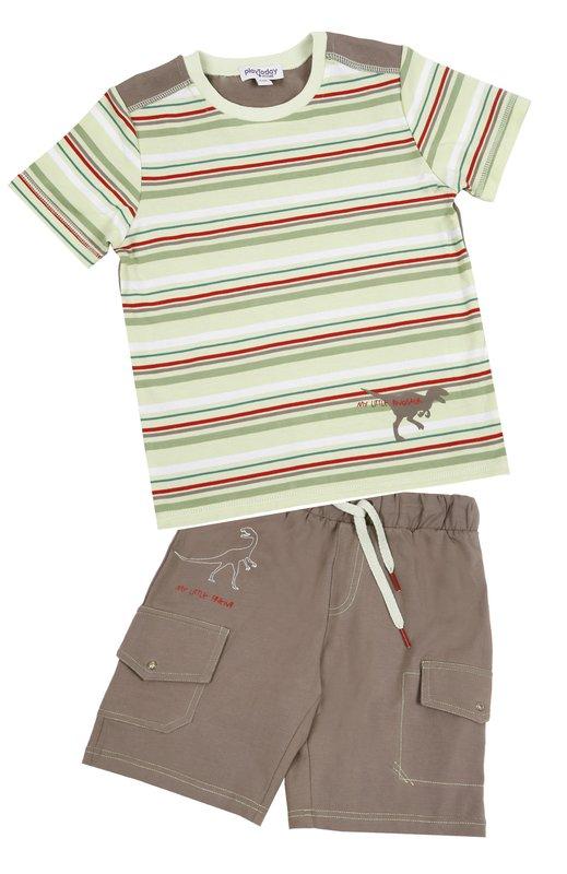 Комплект: футболка, шорты для мал. 11504