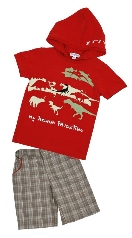 Комплект: футболка, бриджи для мал. 11513