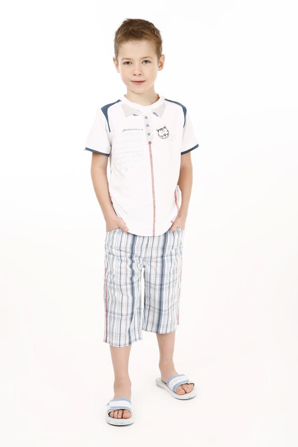 Комплект: футболка, бриджи для мал 11521