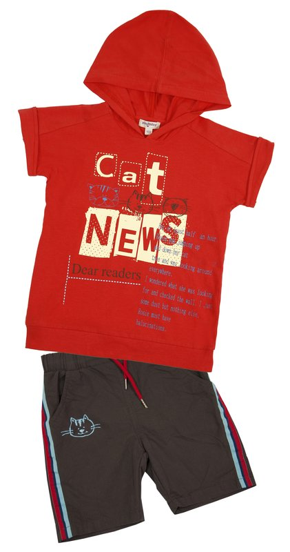 Комплект: футболка, шорты для мал 11523