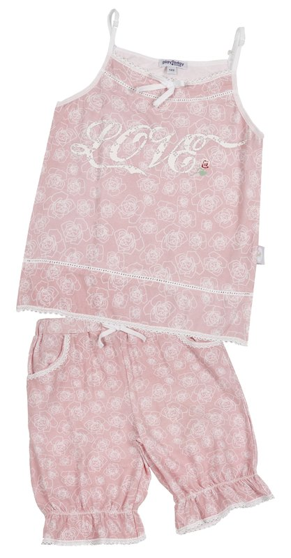 Пижама для дев. 11607