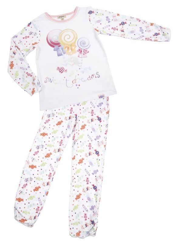 Пижама для дев. 11615