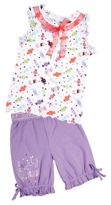 Пижама для дев. 11617