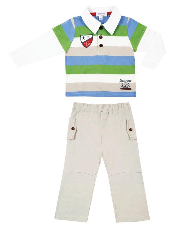 Комплект: футболка, брюки для мал. 117013