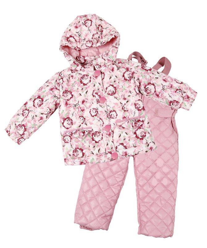 Комплект: куртка, полукомбинезон для дев. 118001