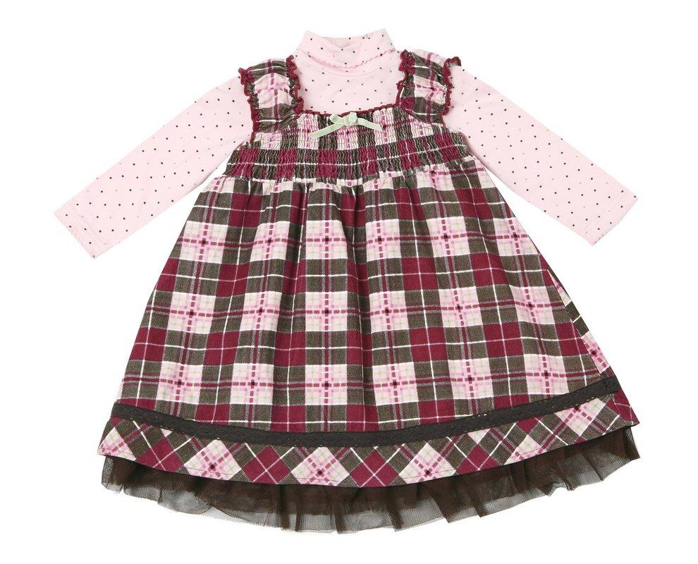 Комплект: платье, боди для дев. 118016