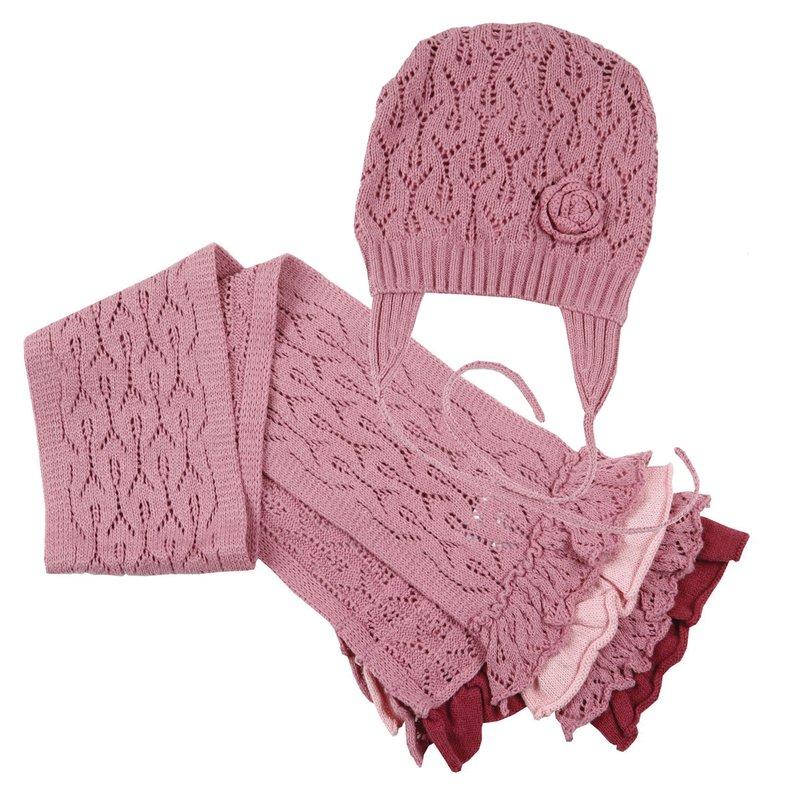 Комплект: шапка, шарф для дев. 118029