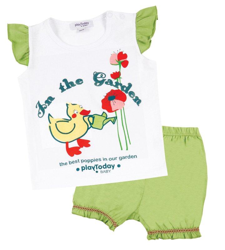 Комплект: майка, шорты для дев. 118049