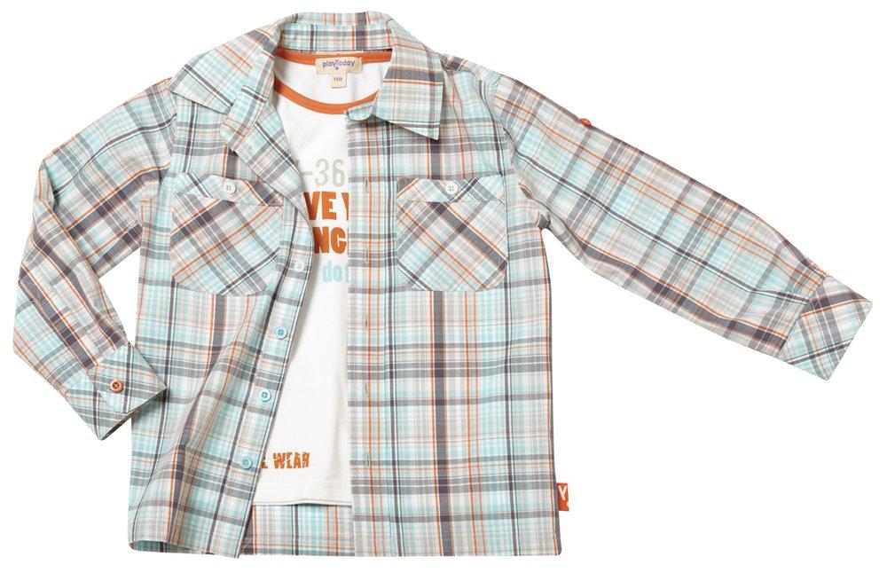 Комплект: рубашка, майка 121012