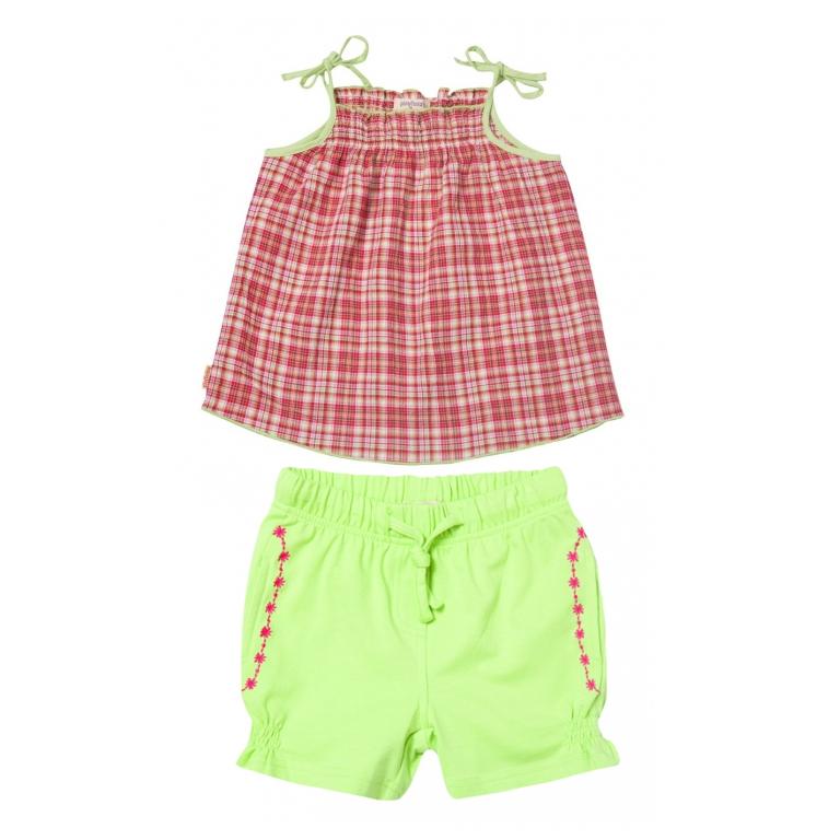 Комплект: майка,шорты 122141