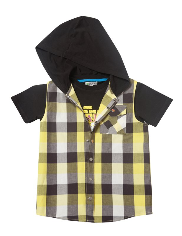 Комплект: жилет,футболка 123033