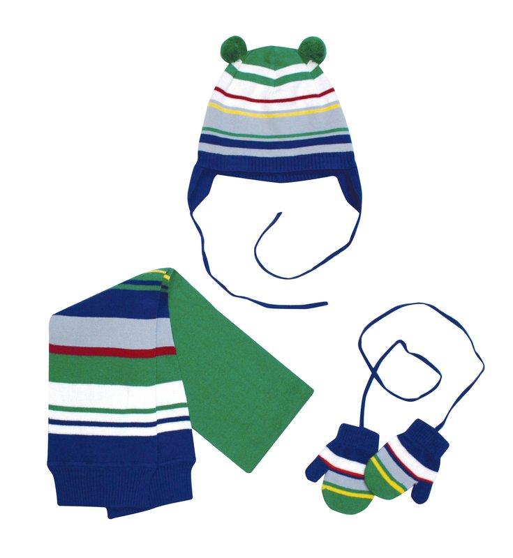 Комплект: шапка,шарф,варежки 127030