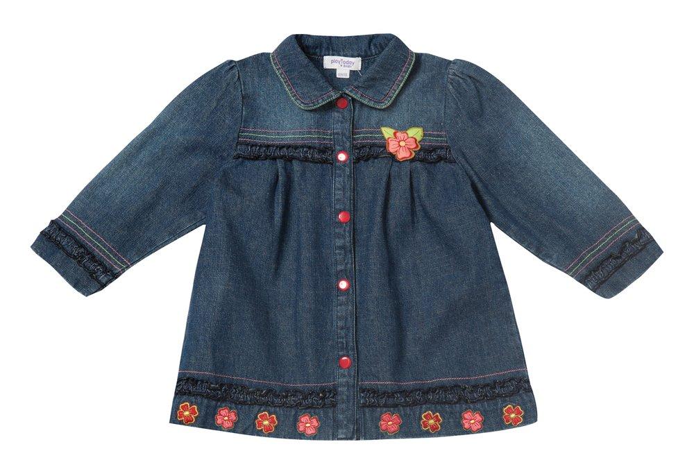 Куртка джинсовая 128041