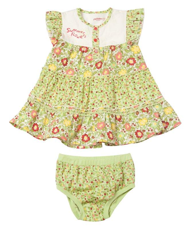 Комплект: платье,трусы 128052