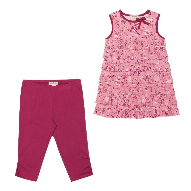 Комплект : платье, леггинсы 132082