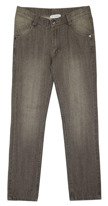 Брюки текстильные джинсовые 133010