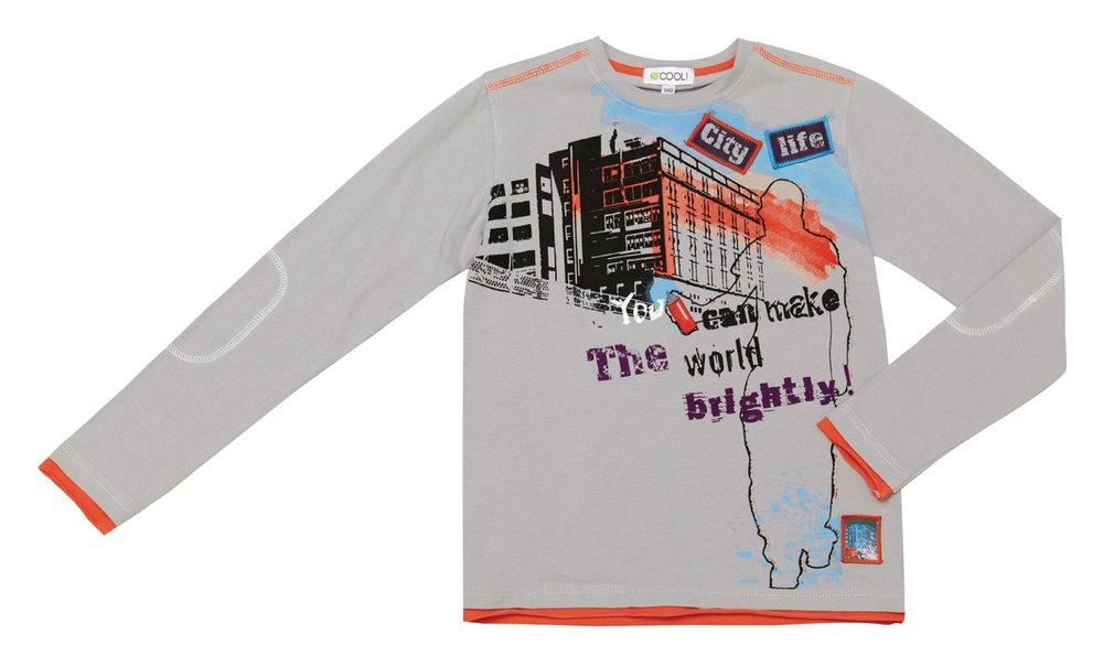 Фуфайка трикотажная (футболка с длинными рукавами) 133021