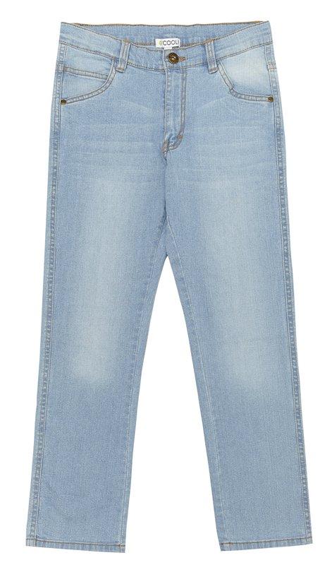 Брюки текстильные джинсовые 133026