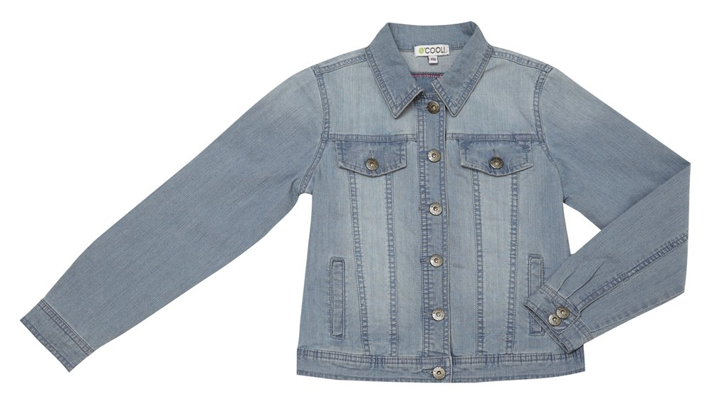 Куртка текстильная джинсовая 134034