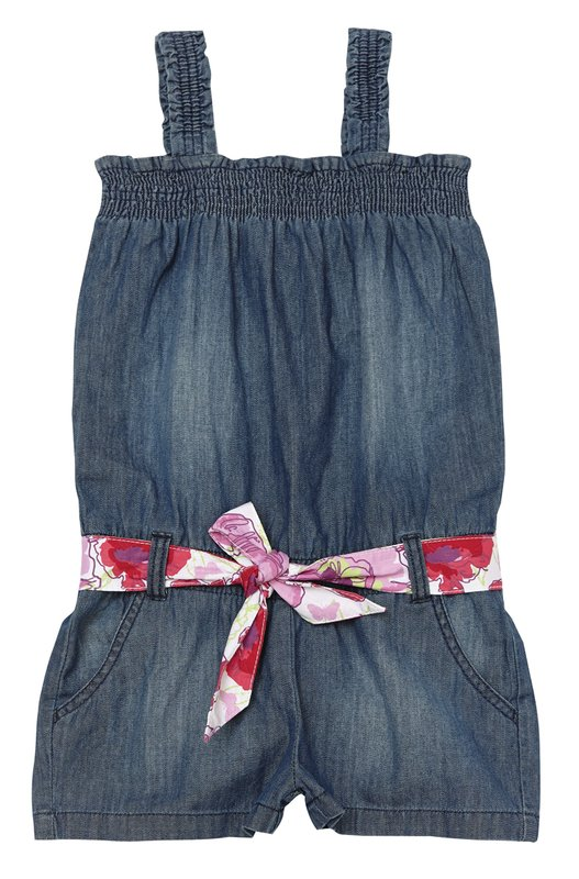 Полукомбинезон текстильный джинсовый 134056