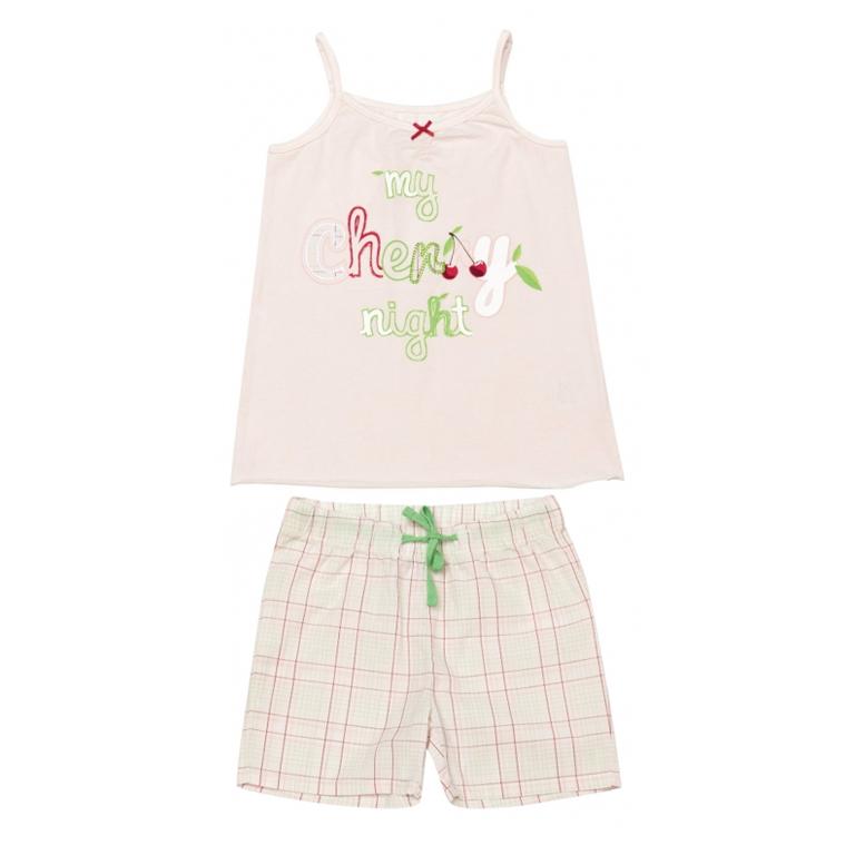 Комплект : майка, шорты 136003