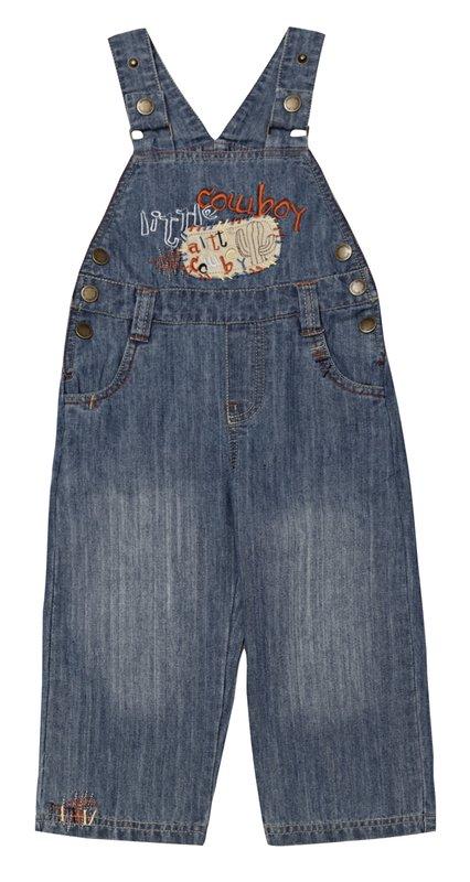Полукомбинезон джинсовый 137008