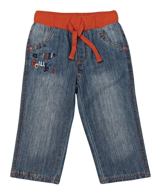 Брюки джинсовые 137010