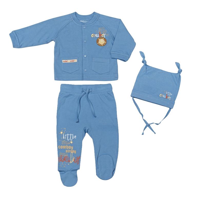 Комплект: кофта, брюки, шапочка 137019