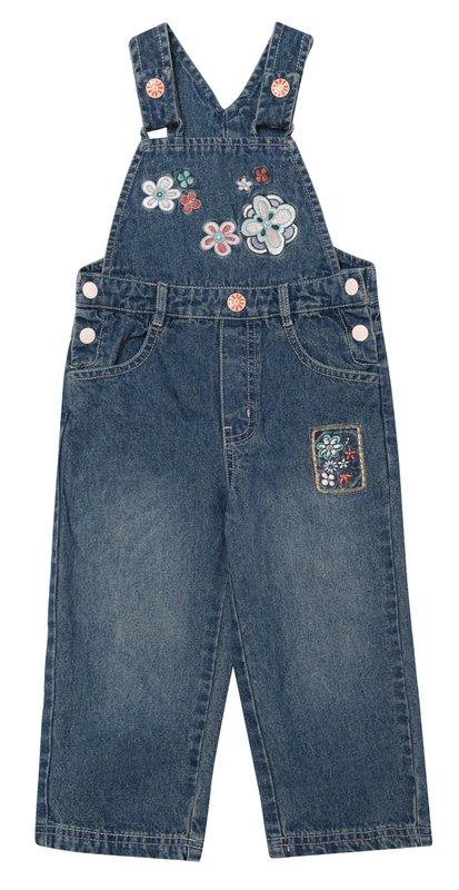 Полукомбинезон джинсовый 138006