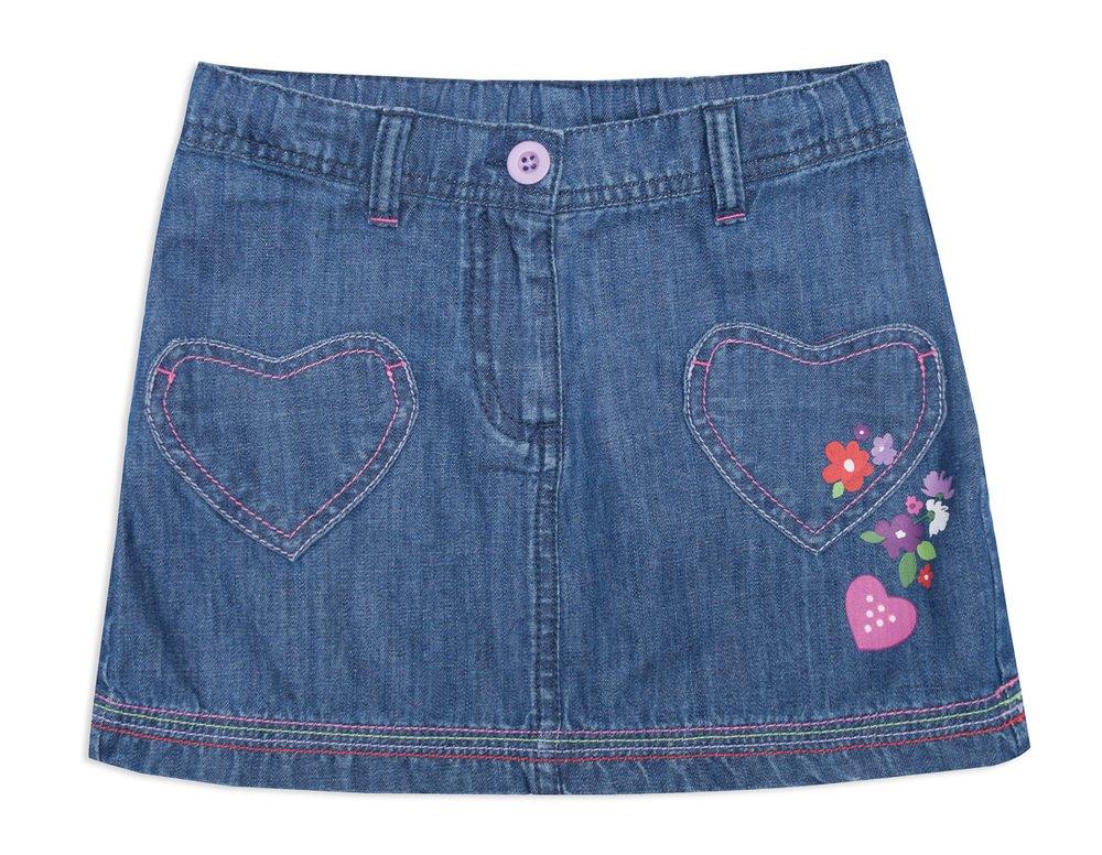 Юбка джинсовая 142078
