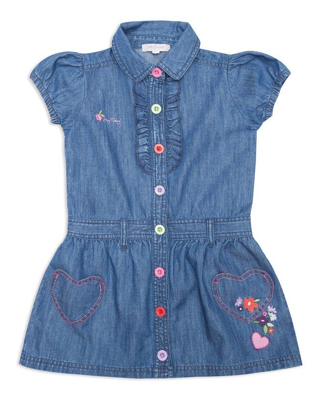 Платье джинсовое 142079