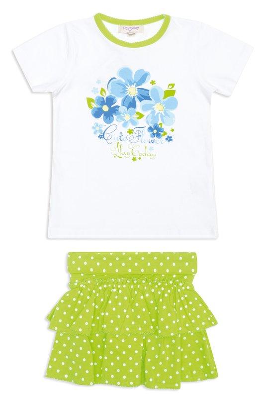 Комплект: футболка, юбка 142143