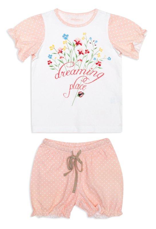 Пижама: футболка, шорты 146002