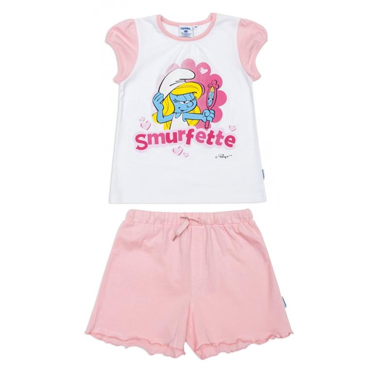 Пижама: футболка, шорты 146032
