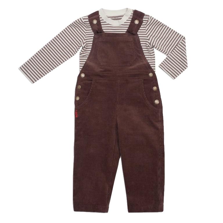 Комплект:  боди/футболка с длинным рукавом, полукомбинезон 147008