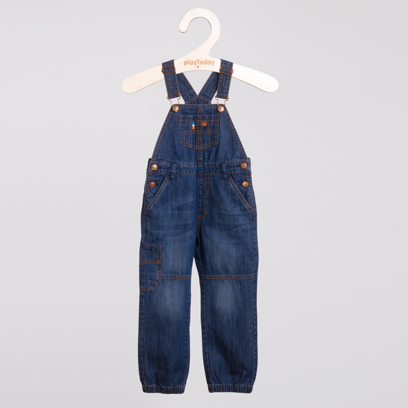 Полукомбинезон джинсовый 151066
