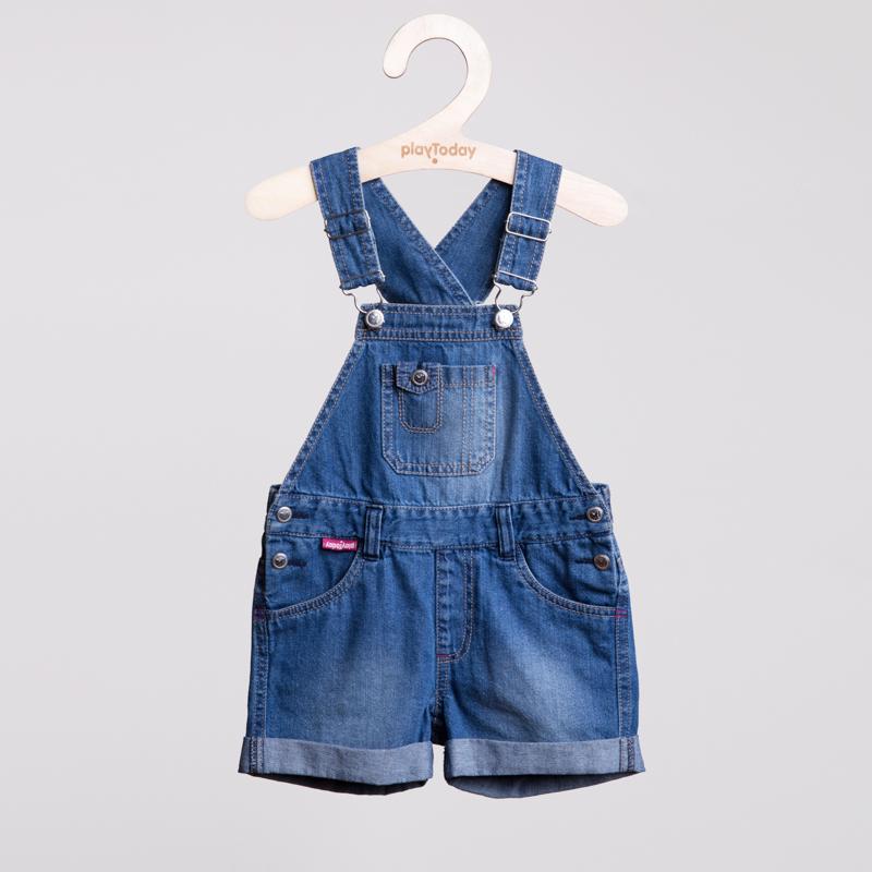 Полукомбинезон джинсовый 152093